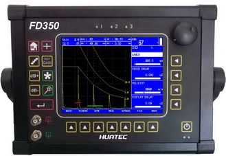 Çin FD350 Ultrasonic Flaw Detector Big Display with Color TFT LCD 640 X 480 pixels Tedarikçi