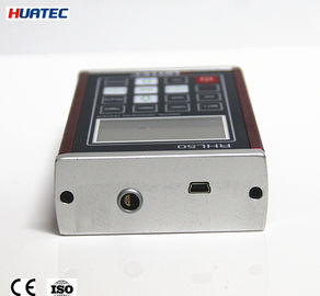 Çin Leebs Metal Portable Hardness Testing Machine RHL50 170 - 960 600mA Distribütör